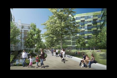 Design for Chelsea Barracks
